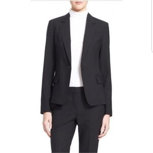 Theory Abel Tailor Blazer in Charcoal Grey